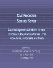 lecture 7 - Case management and Preparations for Trial etc.pptx