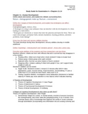 Study Guide Exam 4 Fall 2012