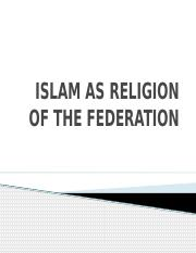 Islam as Religion.pptx