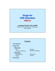Drugs for CNS Part 2 (2)