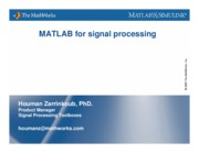 MATLAB for Signal Processing