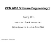 all slides software engineering