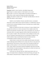 AP English Language & Composition The Synthesis Essay