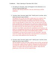 Fifth Guidebook - Platos Apology (Notes).docx