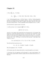 PHY2049 Chapter 32 Solutions