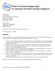 4. What Is Systems Engineering