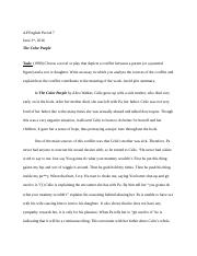 The Color Purple Final Essay.doc