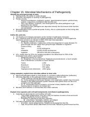 Clinical Microbiology Notes Ch. 15-21.docx