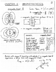Chapter 5 Magnetostatics notes
