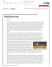 Achievement Gap - Education Week.pdf