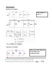 ENGR 2431 Quiz 2 Solutions