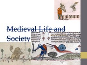 Medieval Life and Society Tenth Powerpoint