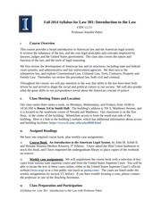 Fall 2014 Law 301 Syllabus Aug 21 2014(1)