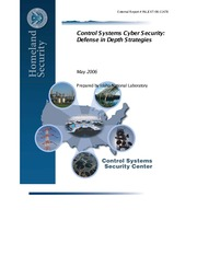 Control Systems Cyber Security-Defense in Depth