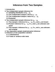 Lecture 5-6 Inference From Two Samples(1).pdf