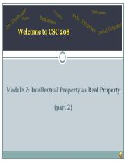 m7 Intellectual Property as Real Property 2