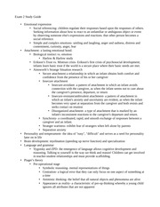 Exam 2 Study Guide Developmental Psychology