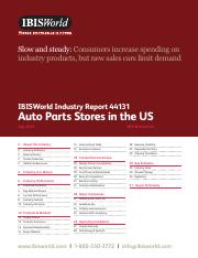44131 Auto Parts Stores in the US Industry Report