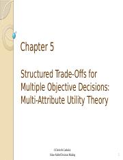 Ch 5- Tradeoff weights and utility.pptx