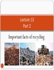 LECTURE 13b-IMPORTANT FACTS OF RECYCLING.pdf