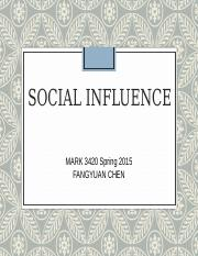 16 - Social Influence.ppt