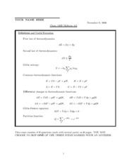 CHEM 120B - Fall 2006 - Geissler - Midterm 2 (solution)