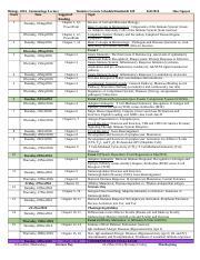 tentative lecture schedule Lecture schedule the following is a tentative schedule for the fall 2018 semester.