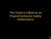 Owner-Safety