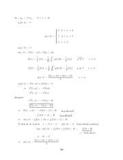 Differential Equations Lecture Work Solutions 286
