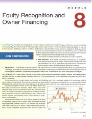 Module 8_ Equity Recognition & Owner Financing