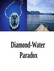 Water and Diamond Paradox.pptx