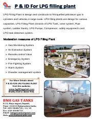 P & ID For LPG filling plant