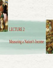 Lecture 2 Measuring a nation s income_FMT14 SP2016
