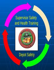Copy of SAFETY SUPERVISOR TRAINING MCRD FEB 2009.ppt