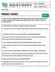 Bullying Primary Source - BrainPOP.pdf