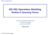 09+Oueueing+Theory