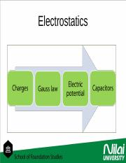 chapter 1 Electrostatics