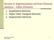 Quadrilateral and Isoparametric Elements in Finite Element Analysis Review