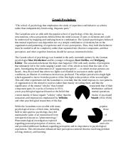 Gestalt Psychology Jigsaw