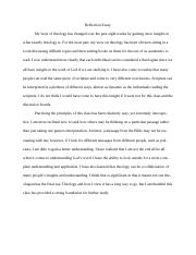 thesis statement the ²lint water crisis needs more attention in an  1 pages reflection essay
