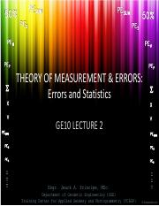 GE 10 Lecture 02 - Theory of Measurement and Errors.pdf