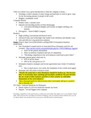 Monsanto Group Project Notes