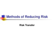 L07 Methods of Reducing Risk