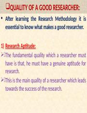 Qualities & Difficulities of a Social Researcher.(HANDOUT)..pptx