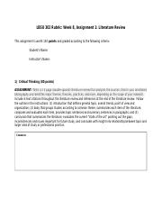 Revised writing assignment 1 rubric for Week Eight LBSU 302.2016(1) (1)