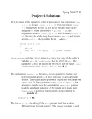 Project 6 Solution