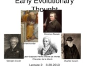 Lecture2_EarlyEvolutionaryThought