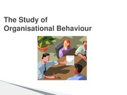 MGMT101 L3 10 Mar 14  The Study of Organisational Behaviour bb