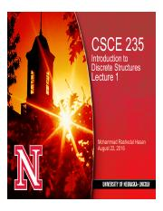 CSCE 235-Lecture 1-Course Introduction