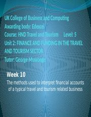 Financial accounts_methods used